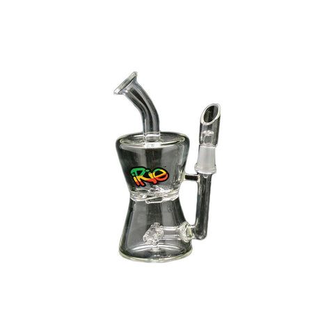 "iRie 5"" Tall Bubbler Dab Rig"