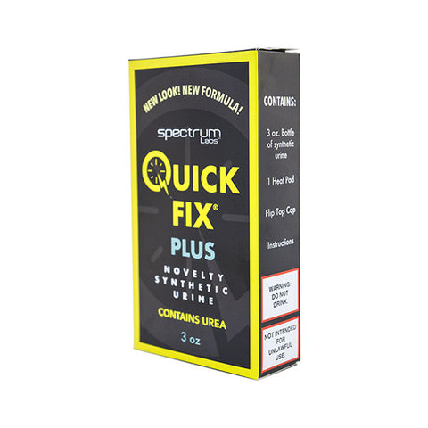 Quick Fix PLUS 3oz Premixed (contains urea) Synthetic Urine
