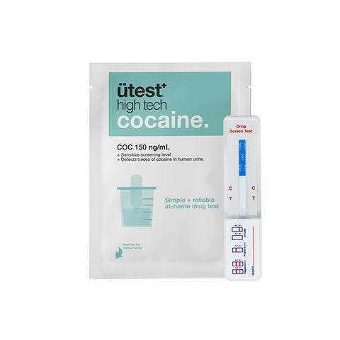 ÜTest+ Cocaine Strip Test (150ng/ml)