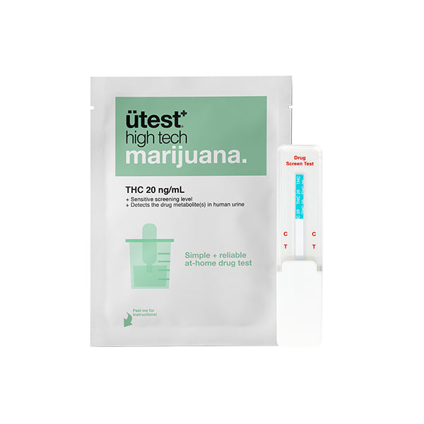 ÜTest+ Marijuana Strip Test (20ng/ml)