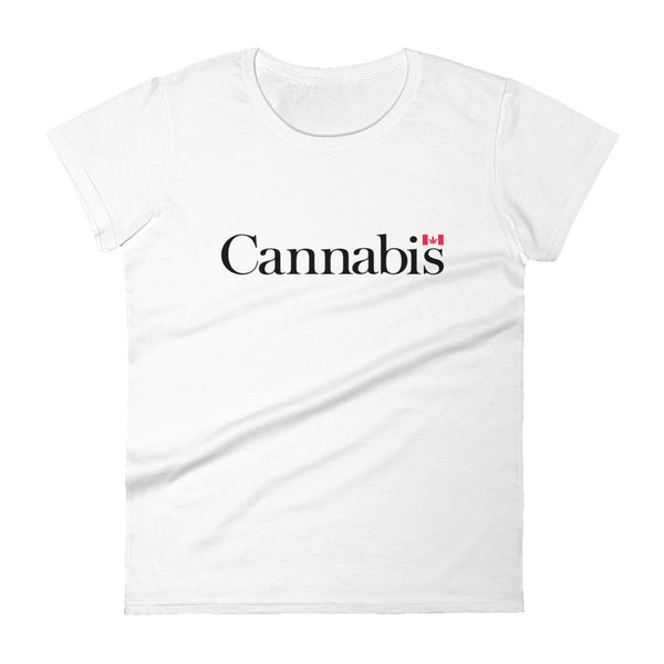 Cannabis Canada T-Shirt - Women's