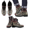 Native Rug Design Men's Leather Boots