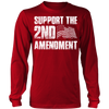 Support the 2nd Amendment Long Sleeve Shirt