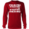 Sticks And Stones Long Sleeve Shirt