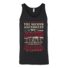 Second Amendment Canvas Unisex Tank
