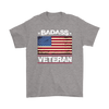 Badass Veteran Shirt - Sport Grey
