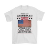 American Flag Shirt - White