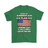 American Flag Shirt - Irish Green