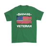 Badass Veteran Shirt - Irish Green