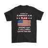 American Flag Shirt - Black
