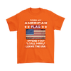 American Flag Shirt - Orange