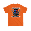 Outlaw Shirt v.2 (Back) - Orange