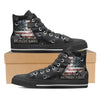 Molon Labe II Men's High Top Shoes