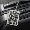 Veteran Luggage Tag #5