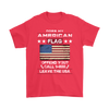 American Flag Shirt - Red
