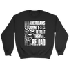 American People Don't Retreat Crewneck Sweatshirt