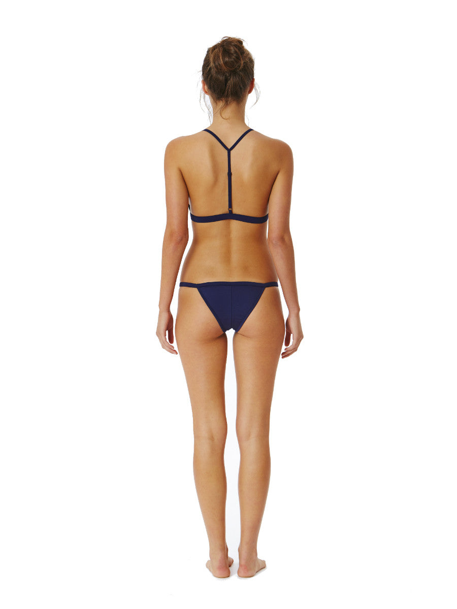 Midnight Blue Australian Bikini - Fella Swim - Louis Top, Otis Bottom - Beach Life Australia