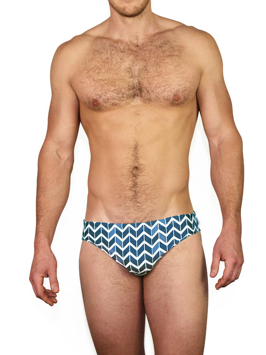 Beach Life Australia - HVNC - Blue Lux Swim Brief