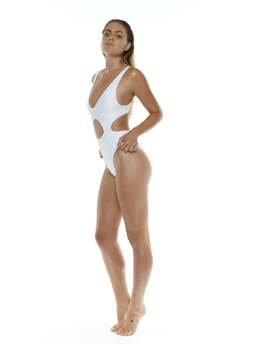 87 One Piece - Allerton - White - Beach Life Australia
