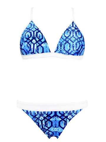 Inca Triangle Bikini Top & Cheeky Band Brief Bikini Set