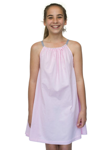 Beach Life Australia - Sandy Feet Australia - Girls Tie Beach Dress Pink