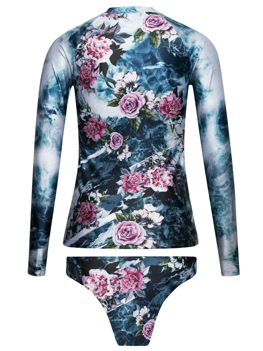 Himalaya Zip Rash Guard Set