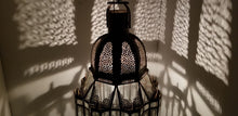 Marrakesh palace clear glass lantern