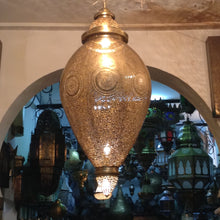 Marrakech riad brass lamp