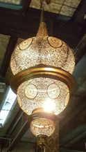 Marrakesh giant brass chandelier