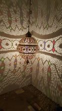 Marrakesh brass dome chandelier