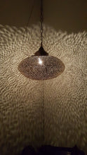 Riad brass hanging lamp