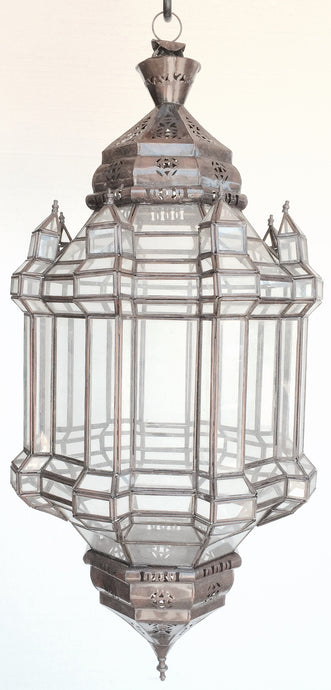 Large clear moorish lantern - Moorish Lighting - Moorishlighting