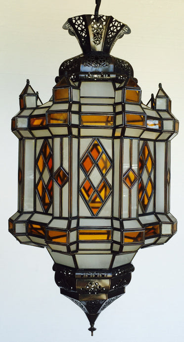 Large Moroccan metal lantern - Moorish Lighting - Moorishlighting