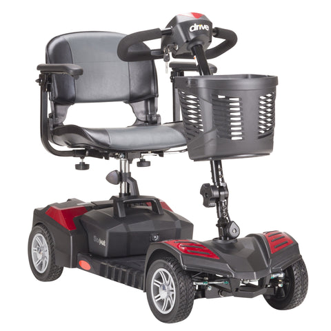 Spitfire Scout Compact Travel Power Scooter, 4 Wheel