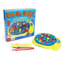 Let's Go Fishing Board Game