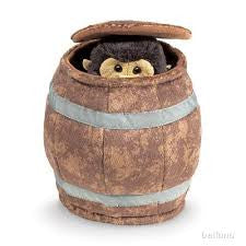 Monkey in a Barrel Puppet