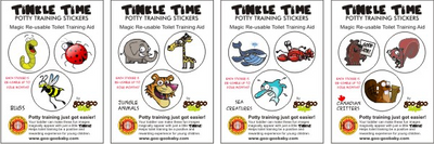 Tinkle Time Stickers