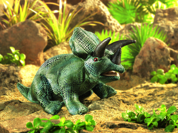 Triceratops Puppet