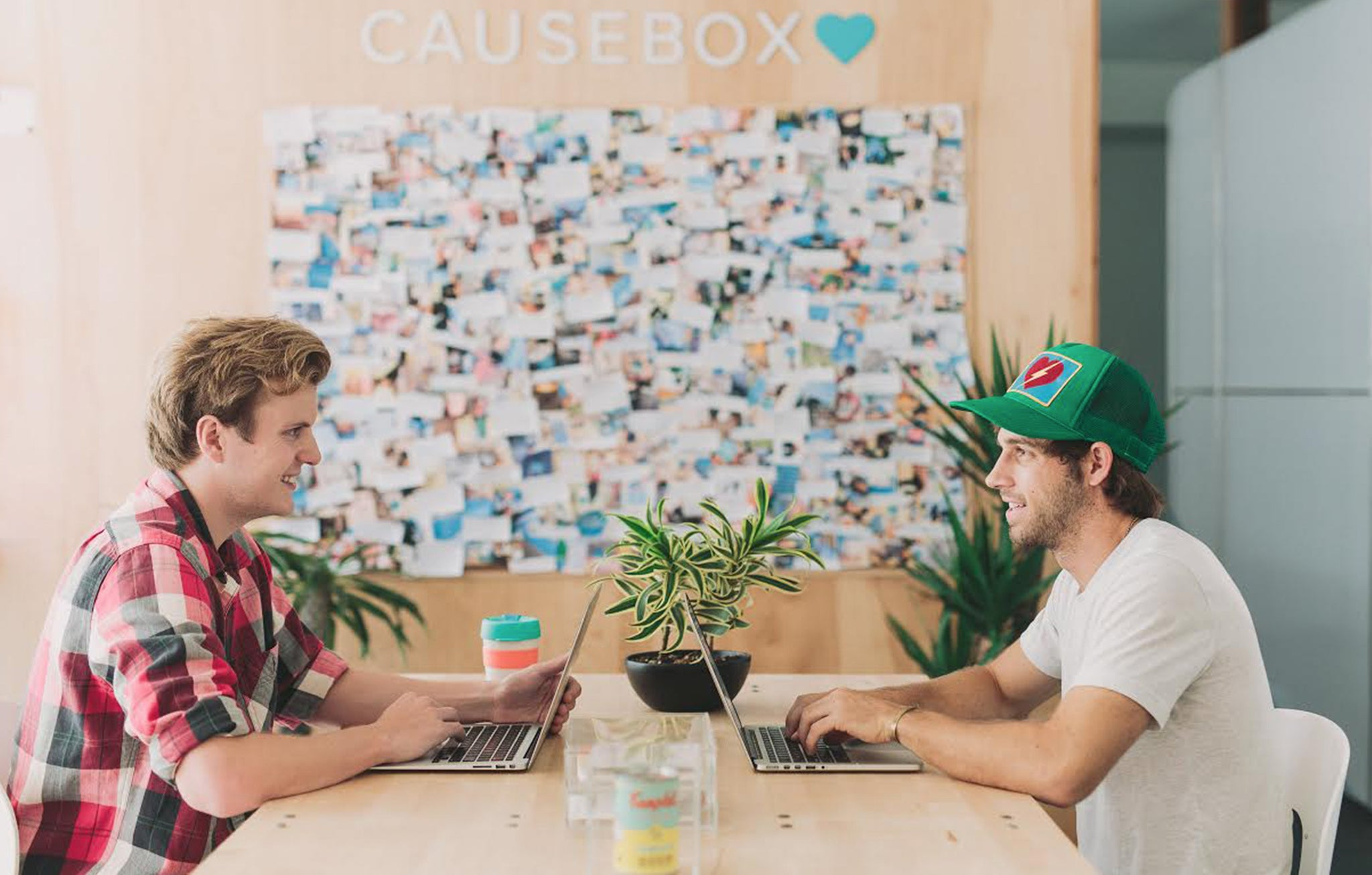 CAUSEBOX, co-founders