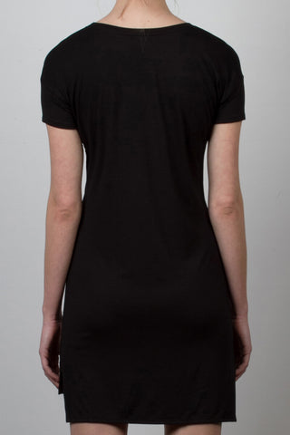 THE MUERTOS_signature black tee dress