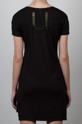 THE TINY DANCER_signature black tee dress