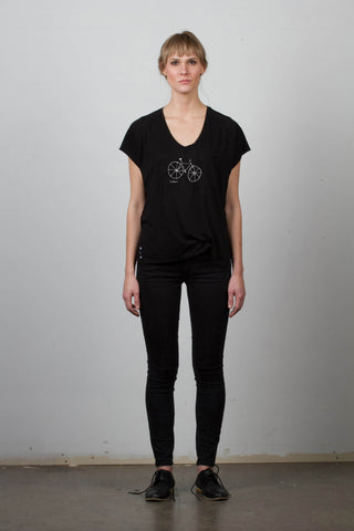 THE FIXIE_signature black jersey tee
