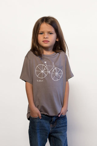 THE FIXIE_mini grey crewneck tee
