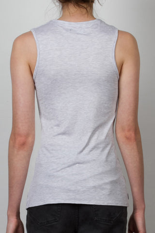 THE GEORGE_signature melange muscle tank