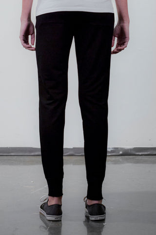THE TINY DANCER_signature black track pants
