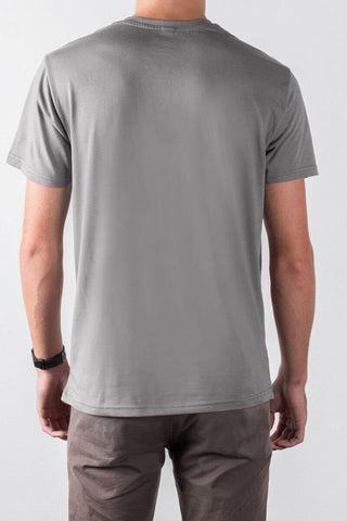 THE STREET SHEEP_men's grey classic tee