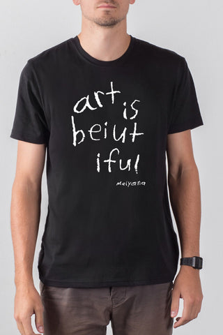 THE KIND WORDS_men's black classic tee