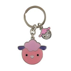 Cute Sheep Keyring