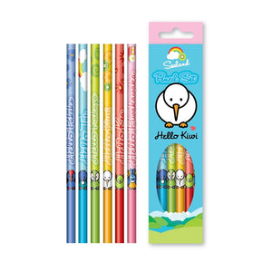 Coloured Pencils (6 Pack)