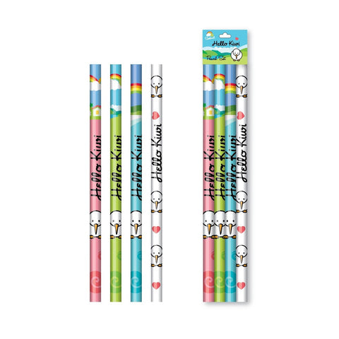 Coloured Pencils (4 Pack)